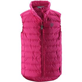 Reima Fauna Down Vest Barn Raspberry Pink